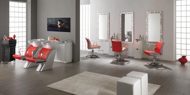 Idee arredamento negozio parrucchiere arredamento negozio for Arredamento estetica usato